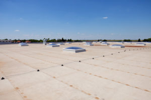 Flat Indsutrial Roof